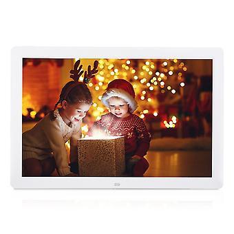 17 بوصة 1440 * 900 HD إطار الصورة الرقمية إطار الشاشة الكبيرة المنبه