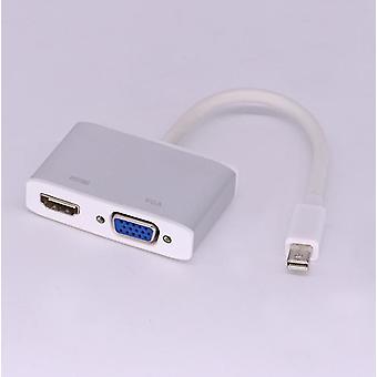 Mini DisplayPort HDMI VGA adapter kábelhez,Mini DP Konverter 4K