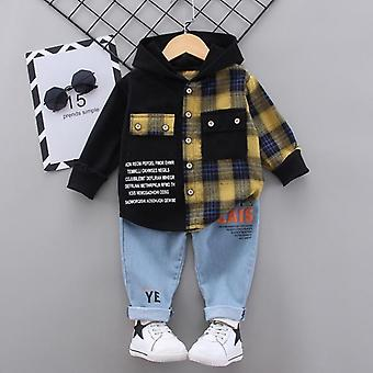 Letter Tracksuit Tops Pants Spring Outfits Set Newborn