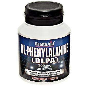 Terveysapu Di fenyylialaniini DLPA 500 mg 30 comp