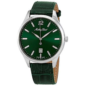 Mathey-Tissot Urban Quartz Green Dial Men's Watch H411AV