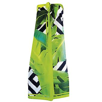 Sunflair Plant Lovers 23410-975 Women's Black-Green Beach Cover Up Pareo