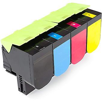 Green2Print Toner Toner-Set, 4 Kartuschen 4X 1000 Seiten ersetzt Wokex C2320C0, C2320K0, C2320M0,