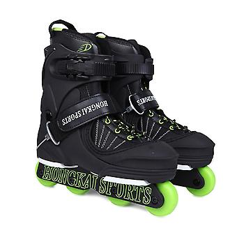 Aggressive Inline Skates Street Trick Roller, Skating Shoes, Extreme Patines,