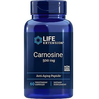 Life Extension Carnosine 500mg Vegicaps 60