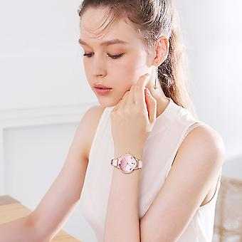 Girl waterproof middle school student gradient pink girl watch