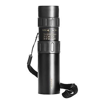 Télescope monoculaire 10-300X40mm pour observer les oiseaux chasse camping randonnée voyage