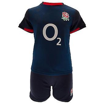 England RFU Baby T-Shirt & Shorts Set