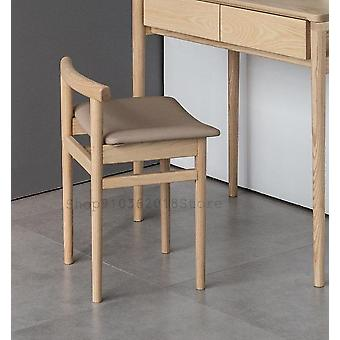 Simple Solid Wood Nordic Dining Stool