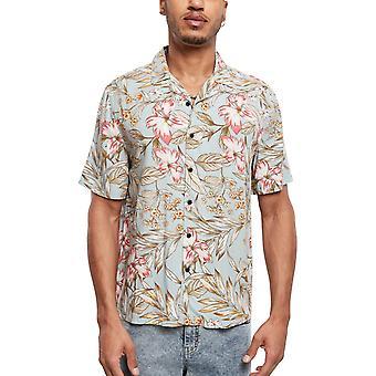 Urban Classics - Viscose Resort Shirt Shirt hibiscus