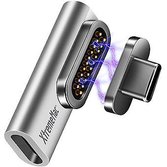 FengChun Premium Magnetischer USB C Adapter für Apple MacBook, iPad und andere USB-C Geräte,