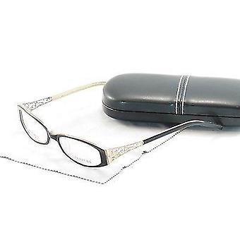 Covergirl Eyeglasses Frame CG0419 005 Plastic Black Cream High Quality 52-16-140