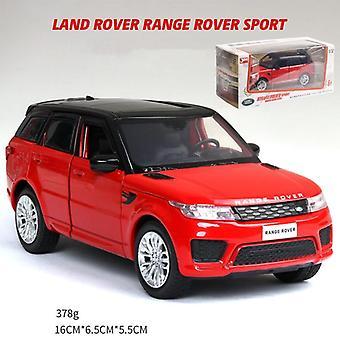 Legering bil land-rover model Range Rover sportsvogn model lyd og lys.