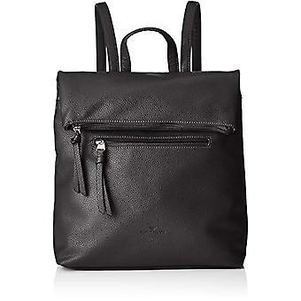 Tom Tailor women's backpack, 25 x 13 x 31 cm, crossbody bag, Black (Black), 11.5x33x32 cm (B x H x T)