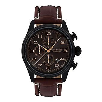 Gigandet G41 005 - Men's watch, leather strap, brown color