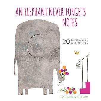Um elefante nunca esquece notas