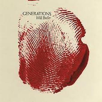 Will Butler – Generations Limited Edition Klar med röd stänk vinyl