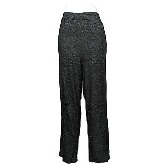 Cuddl Duds Donna Plus Softknit Lounge Pantaloni Grigio A434069
