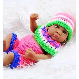 Pulóver meg többszínű 11 hüvelykes újszülött kisfiú babák pl-789