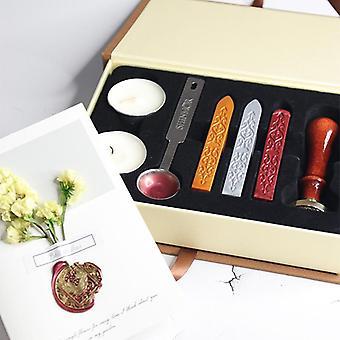 Wachs Siegel Stempel Kit Hochzeit Einladung Versiegelung Wachs Stempel Kits