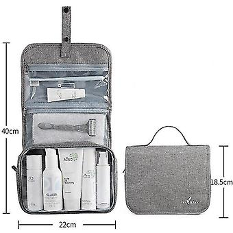 Für Fold Up Travel Kosmetiktasche Frauen Make-up Taschen Toilettenartikel Veranstalter wasserdicht hängentoilettentasche WS12230