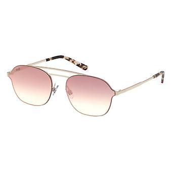 Solglasögon för män WEBBGLASÖGON WE0248-21G Vit (ø 58 mm)