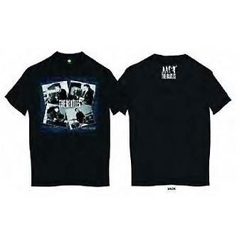 Die Beatles in der Höhle Mens Blk T Shirt: Medium
