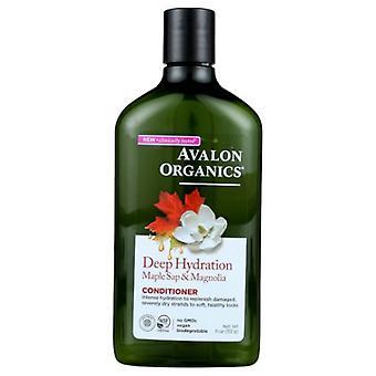 Avalon Organics Deep Hydration Maple Sap & Magnolia Conditioner, 11 Oz