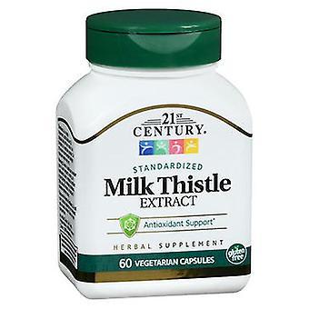21st Århundre Standardisert Melk Tistel Ekstrakt Vegetarian, 60 Faner