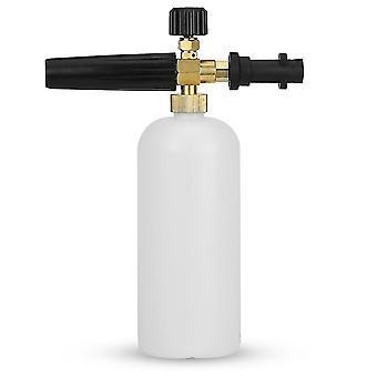 Pulvérisateur de bouteille de lance de mousse de neige compatible avec karcher