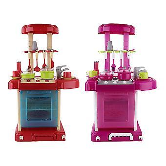 أطفال لعب لعبة فتاة طفل لعبة مطبخ الطبخ محاكاة أدوات الطاولة لعب الأطفال