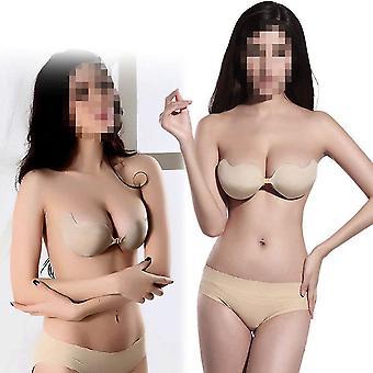 Sexy Push Up Samoprzylepny silikonowy biust przednie zamknięcie bez ramiączek Niewidzialny Biustonosz