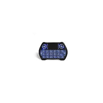 MT-10 2.4G Wireless Three Color Backlit Rechargeable Mini Keyboard Touchpad Air Mouse Airmouse