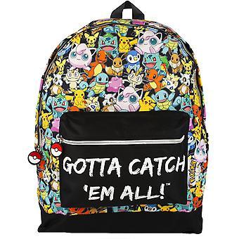 Pokemon måste fånga em alla ryggsäck