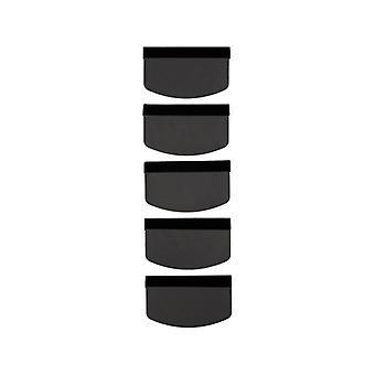 Applikaattori KSIX Näytönsuoja Matkapuhelin Musta (5 kpl)
