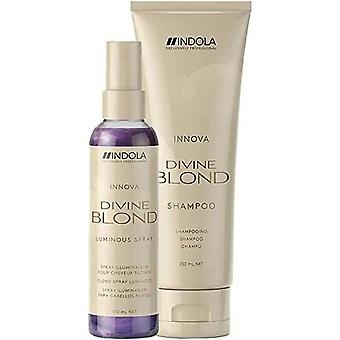 Shampoo Indola Divine Blond (250 ml + 100 ml)