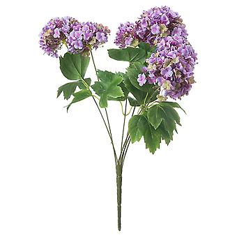 Fresh cut flowers viburnum spray artificial flower