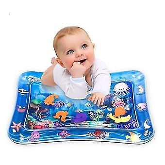 Tapis gonflable Tummy Time Mat Premium Baby Water Play Mat pour bébés et tout-petits Bébé