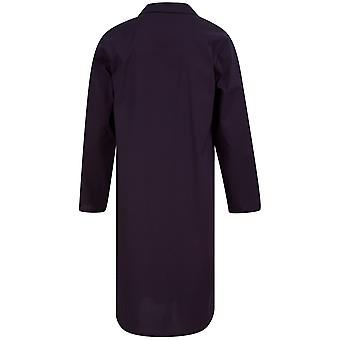 Slenderella Walker Reid WR88831 Men's Navy Cotton Nightshirt