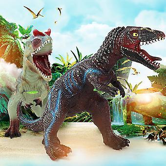 Jumbo Динозавр Игрушка Набор Большой Мягкий Хлопок-фаршированный Пластиковый Динозавр Игрушка