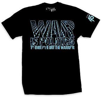Ranger Up War is Politics T-Shirt - Black