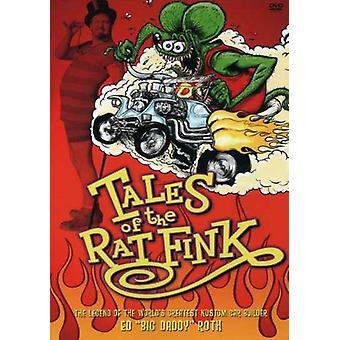 Tales av Rat Fink [DVD] USA import