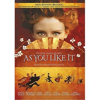 As You Like It [DVD] USA import