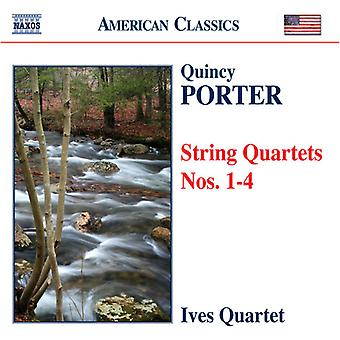 Q. Porter - Quincy Porter: String Quartets Nos. 1-4 [CD] USA import