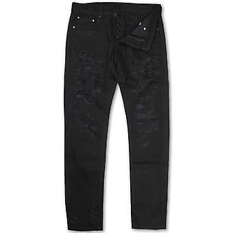 Dope Couture Franklin conique Denim Jeans noir