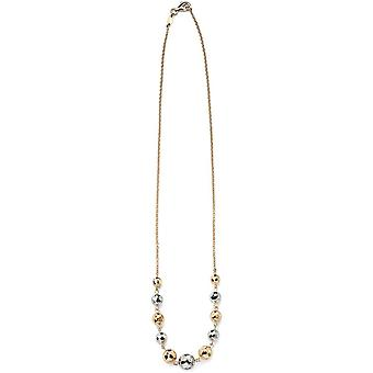 9 CT White Gold And Gold Necklace