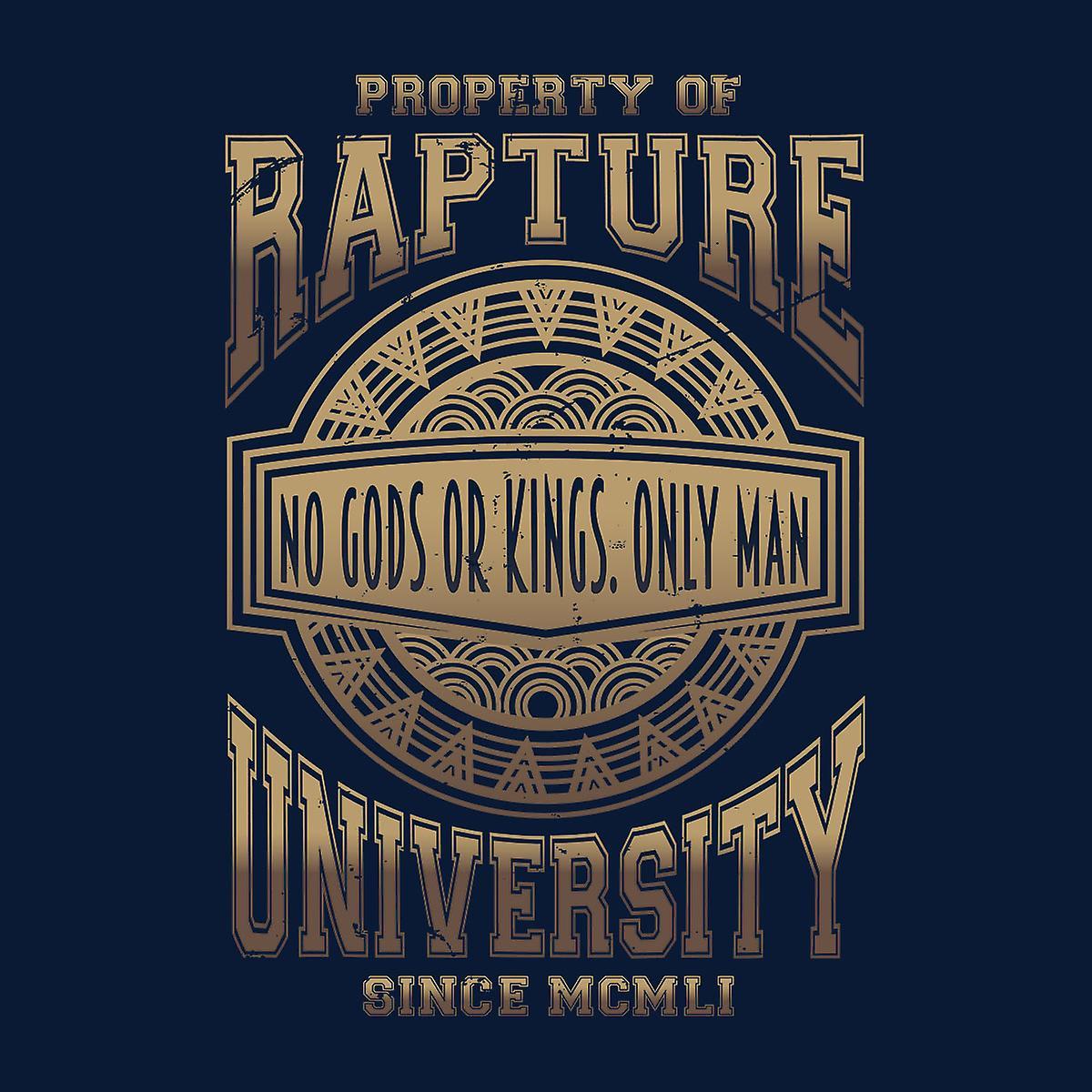Bioshock Rapture Universidad Varsity chaqueta de los hombres