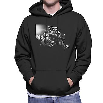 Ramones Gabba Gabba Hey Manchester Apollo 1977 Men's kapturem Bluza