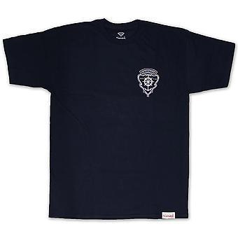 Diamond Supply Co Yacht Crest T-shirt Navy