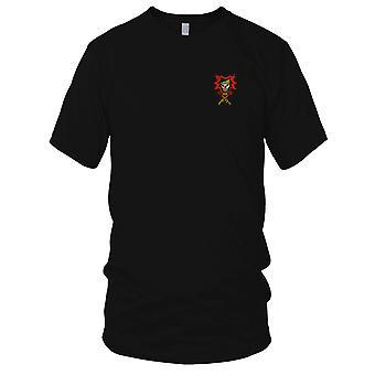 MACV-SOG CCN Spike Team - SF especiais E.U. forças guerra de Vietnam Patch Bordado - Mens T-Shirt